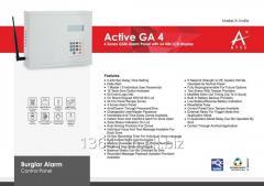 Active-GA4 Four Zones GSM Alarm Panel