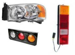 Headlamp, Tail lamp, LED Lights