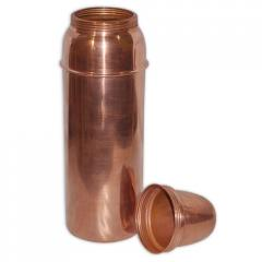 Copper Bottle With Lid