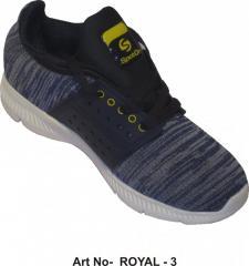 Zapatos deportivos de color negro azulado