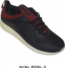 Rojo-negro zapatos de los deportes