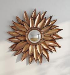 Flower antique Decorative wall Mirror Frame