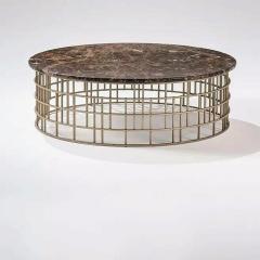 Metal & stone Coffee Table