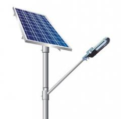LED Solar Street Lights Complete Set