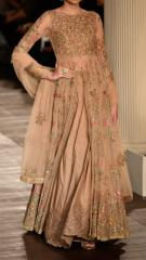 Brown Color Indowestern party wear