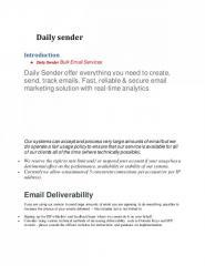 Daily sender