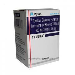 Telura : Buy Tenofovir, Lamivudine & Efavirenz Telura Tablet Online