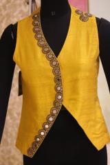 Sleeveless Yellow Jacket