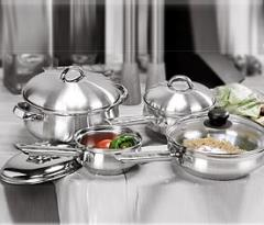 Steel Cookware Set