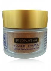 OILY AND COMBINATION SKIN FACE PACK