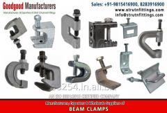 Solar Mounting Systems Fittings, spring channel nuts, bracketry exporters in india www.strutnfittings.com