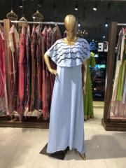 Powder Blue fitted Dress