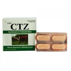 Ciprofloxacin Tinidazole Bolus (GEM CTZ)