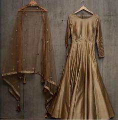 Taffeta Gown