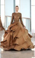 Ombre Gown in two Piece