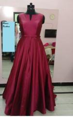 Taffeta Tale Gown