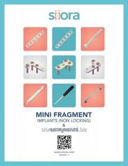 Mini Fragment Locking Implants &