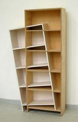 Racks and shelves are modular bookcases