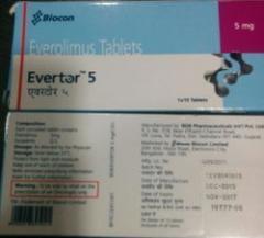 Evertor 5 мг / 10 мг таблетки