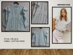 Women cotton moss top