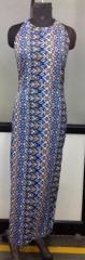 Multicolor women maxi dress