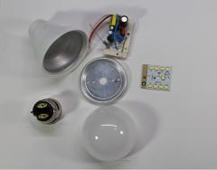 LED Bulb Body and Driver