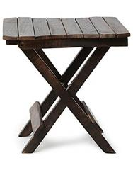Multipurpose Wooden Folding Table - Rectangle