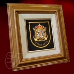 Hand Embroidered Framings
