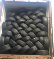 High quality second hand used car tyres available