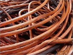 Bare copper wire or silvered