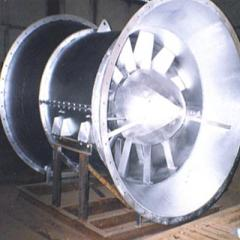 Fixed Bladed Tube Axial Flow Fans