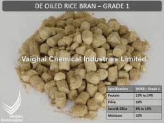 De Oiled Rice Bran - Grade 1