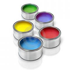 Paints Tin Container
