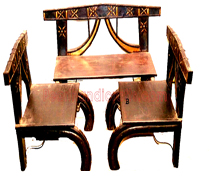 Cart Tables and chairs