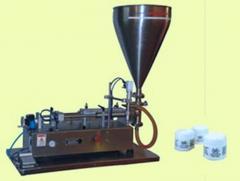 Semi Automatic Piston Filler