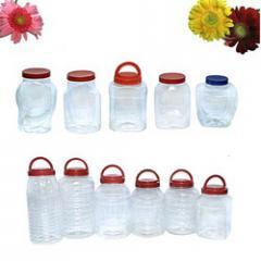 Pet Plastic Confectionery Jar