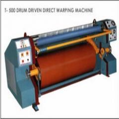 Drum Driven Direct Warping Machine