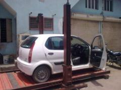 Mechnical Screw Car Parking
