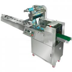Flow Wrapping Machine With PLC Control