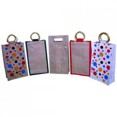 Colored Bottle Bags