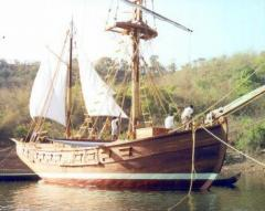 Ocean-going boat  Yashka