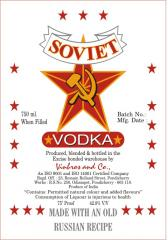Soviet Vodka
