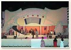 Bollywood Theme Scenery