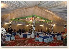 Tent Floral Dance Themes