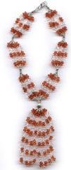 Semi Precious Stone Necklaces with Bali Silver