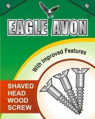 Eagle Avon Shaved Head Wood Screws