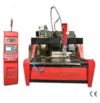 CNC 5 Axis Waterjet Cutting Machine