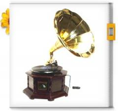 Gramaphone Large Hexagonal