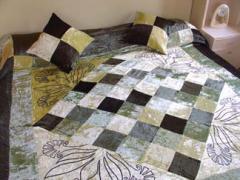 Velvet Bedcovers & Cushions