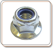Flanged Nylock Nuts